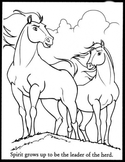 cimarron coloring pages - photo#9