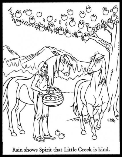 cimarron coloring pages - photo#23