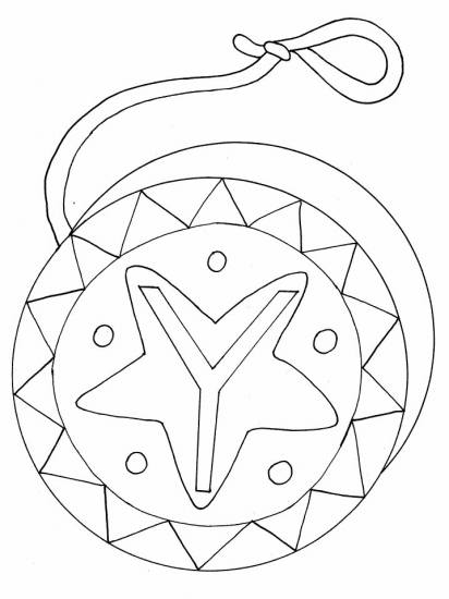 coloring pages yoyo - photo#24