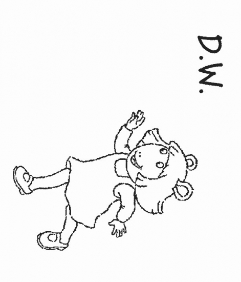 dw coloring pages - photo#10