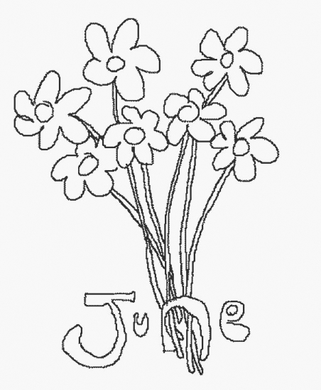 free june coloring pages - photo#27