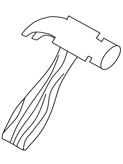 coloring pages hammer | Www Coloring Picture Of A Hammer Coloring Pages