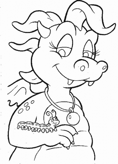 Dragon tales dt7 coloring pages for Coloring pages of dragon tales