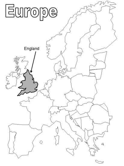 england map coloring pages - photo#15