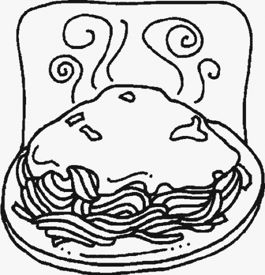 Italy coloring sheets for Italian food coloring pages