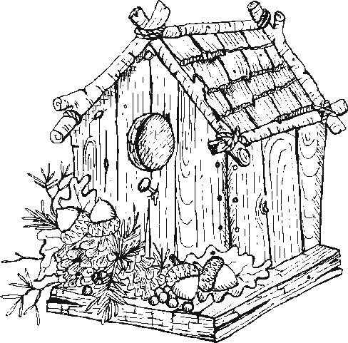 Adult Coloring Pages Houses on country coloring pages for adults