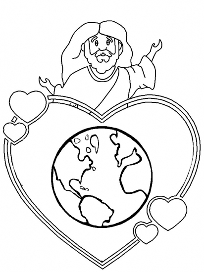 john 3 16 coloring pages - photo#14