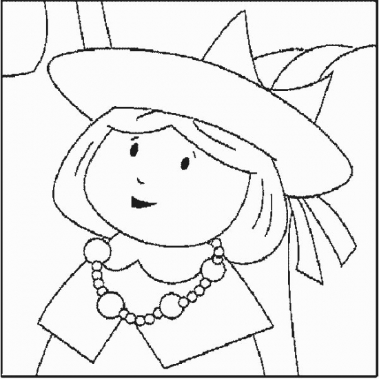Free coloring pages of madeline for Madeline coloring pages