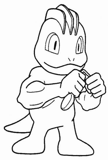 machamp pokemon coloring pages - photo#32