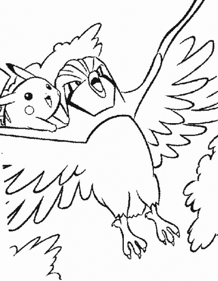 Pigeoto Pokemon Coloring Pages Related Keywords