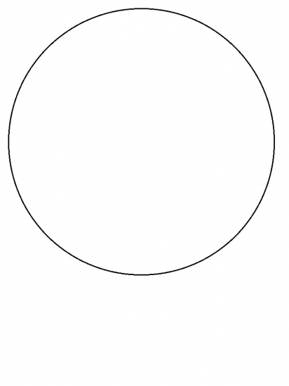 Free Coloring Pages Of Circle Shape Circle Coloring Page